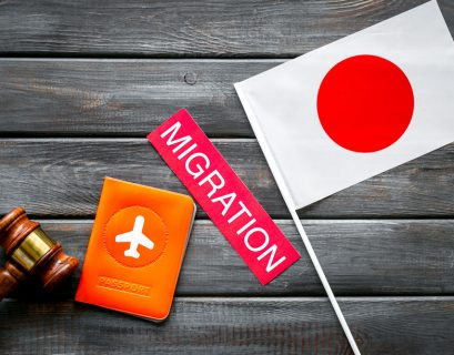 What is the process of immigration to Japan